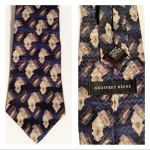 Other - 🆕 Geoffrey Beene 100% SILK Tie in EUC !!!